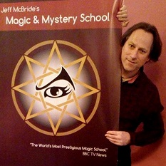 Allin Kempthorne at the Magic and Mystery school