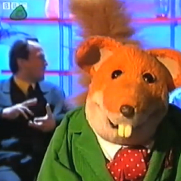 Allin Kempthorne with Basil Brush