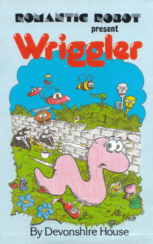 Wriggler hit the computer game charts in 1985